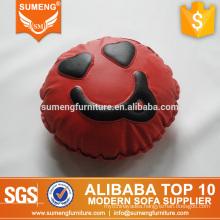 SUMENG shy red face octopus emoji pillow