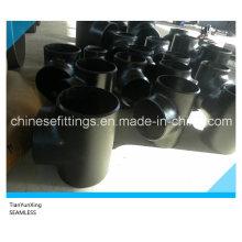 DIN En10253-2 Seamless Tee Carbon Steel Pipe Fittings