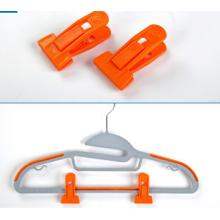 T -Type Hanger Clips for Flocked Hangers