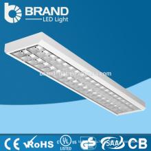 Высокий люмен 2x18W T8 Утопленная решетка лампы