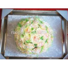 2014 chaud nouvelle boule de fleur de soie artificielle embrassant la boule rose pour la décoration de mariage de partie
