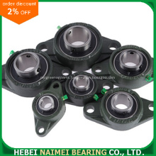 Inch Size Shaft 2 Bolts Flange Bearing