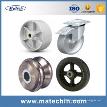 China ISO9001 Foundry Custom Ggg50 Ductile Cast Iron Caster