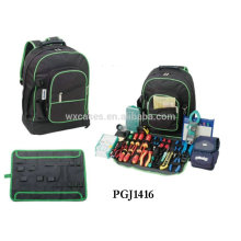 bolsa de herramientas estilo mochila 600D con herramienta almacenar sistemas dentro de