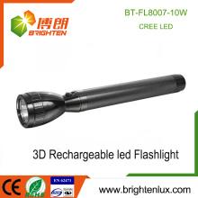 Hot Vente en gros de la police militaire Utilisation portable Ultra Bright Matal haute qualité XML T6 XPG 3.7v lampe torche rechargeable