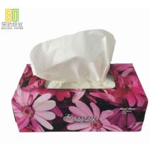 Environmentally friendly boxed facial tissues household