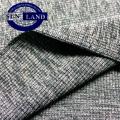 polyester spandex 2x2 rib fabric for garments cloth