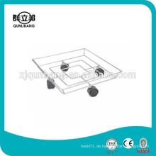 Quadratischer Chromzylinder-Zahnstange / Metallgas-Flaschen-Regal
