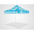 Carpa de gazebo 2x2 pop up de servicio pesado personalizada