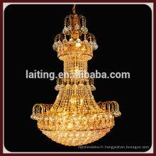 2014 hall principal décoratif grand lustre éclairage