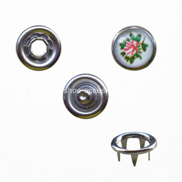 Metal Prong Type Snap on Button for Garment