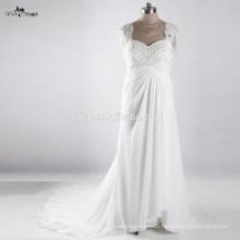 RSW917 Maternity Chiffon Pregnant Woman Wedding Dress
