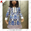 Wholesale baby girl frock fancy smoking dress