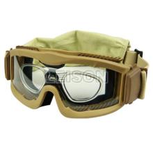 anti-UV, anti-fog engrenagem tático militar de esqui óculos de proteção
