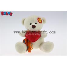 """5.1""""Beige Love You Cuddly Toy Teddy Bear as Festival Gift Bos1111"""