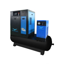 7.5KW Combined Screw Air Compressor with air tank air dryer