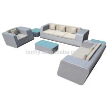2015 al aire libre muebles 5 piezas moderno de la rota