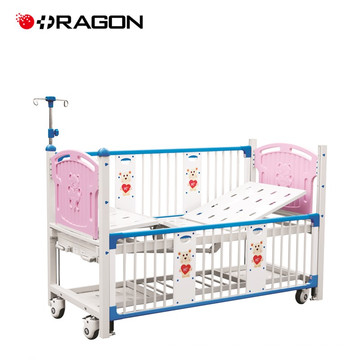 DW-919A Newest Medical Manual Lovely Children Bed