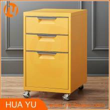 Diseño de gabinete lateral / pequeño mobiliario de oficina Gabinete de archivo de metal Personalizar