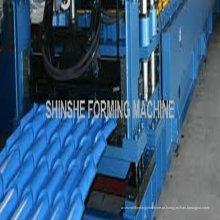Máquinas formadoras de telhas de aço coloridas
