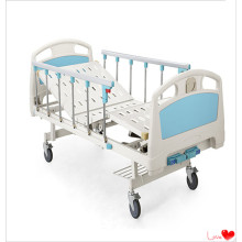 Supply of Manual ABS Two-Crank Hospital Adjustable Beds in China