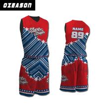 Ozeason Sportswear Full Dye Sublimation Thunder Eco-Friendly Basketball Jersey