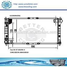 Plastic Radiators For MAZDA 626/MX-6 93-97 OEM:KL20-15200E/F/G/920W8005CF/DF