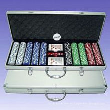 Juego de fichas de póquer (P500L)