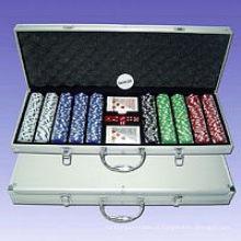 Jogo de Chips de Poker (P500L)