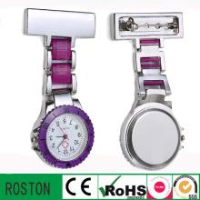 2016 nouvelle montre en métal d'infirmière de moule