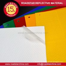 Commercial grade self adhesive reflective film