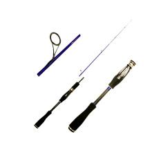 Flacons de canne à pêche en fibre de verre SPR026 meilleur vendant canne à pêche de filage de produit chinois chaud