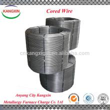 Aleación de alambre con núcleo de bario de silicio y calcio para fundición de límite y hierro