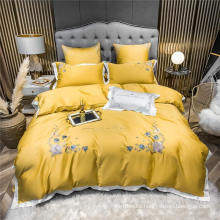 Hotel Supplys Cheap Price Deep Pocket Bed Sheets Cotton Fabric for King Bed