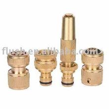 4pcs brass basic hose connector set