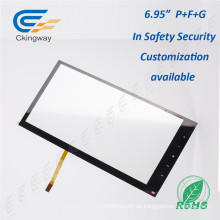 """6,95 """"4 Wire Resistive Multi Touchscreen Overlay"""