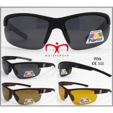 Alta calidad hombres deporte polarizado gafas de sol (wsp604618)