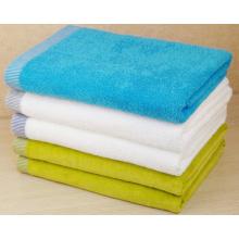 (BC-TB1006) Heißverkauftes buntes Frottee-Badetuch aus 100% Baumwolle