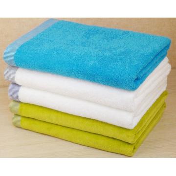 (BC-TB1006) Toalha de banho turca colorida 100% algodão de alta venda