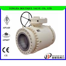 ASTM A105 кованые цапфовый шаровой клапан