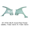 Dear Fenders For Hyundai Accent