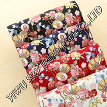 Fashion Big Flower Designs for Ladies Dress Printing Microfiber Fabric