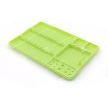 Bandeja de plástico dental desechable