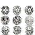 Wholesale 925 Sterling Silver European Beads Jewelry