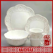 4pcs dolomite dinnerware
