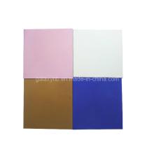 Plaque de titane de haute qualité dans différentes couleurs de galvanoplastie