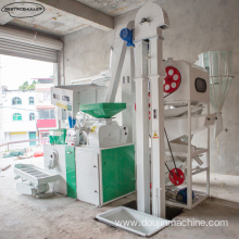 Smooth operation automatic rice mill