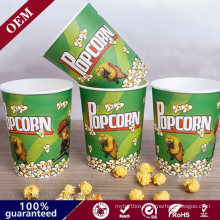 environmental Food Grade Take out Popcorn Paper Cups