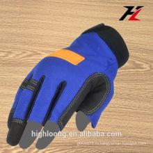 Гибкие три пальца без пальцев перчатки, пользовательские без пальцев перчатки безопасности