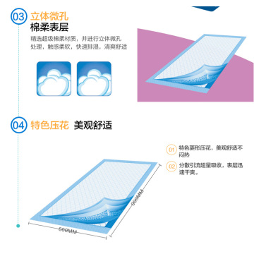 Underpad, Dignity Sheet, Incontinence Pad, Surgical Pad, Pet Pad, Medical Sheet